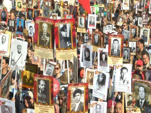 Бессмертный Полк прошел по улицам города Караганды 09.05.17г