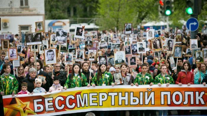 В Оренбурге на шествие вышли почти 40 тысяч человек