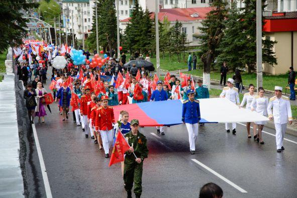 Жители Эльбрусского района широко отмечают День Победы