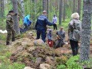 На севере Финляндии обнаружена братская могила красноармейцев