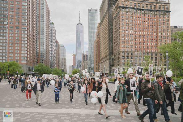 В 2018 году Бессмертный полк прошагает по Нью-Йорку 5 мая