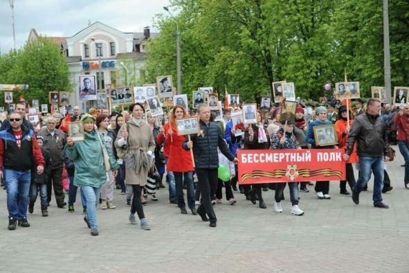 9 маяв Бобруйске вновь пройдёт Бессмертный Полк