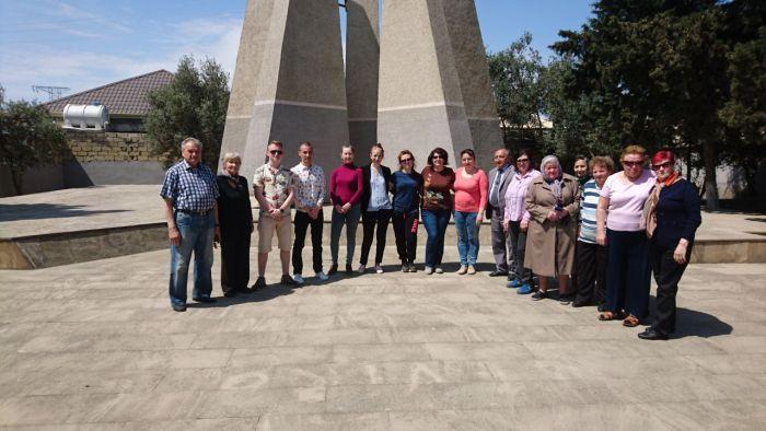 5 мая прошёл субботник на мемориальных захоронениях воинов Великой Отечественной