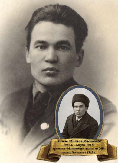 Ханов Чингиз Хадыевич