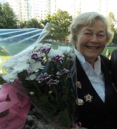 Екатерина Алексеевна Цветкова (Волкова)