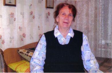 Дикарева (Малышева) Надежда Павловна