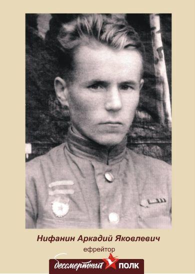 Нифанин Аркадий Яковлевич