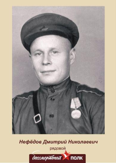 Нефедов Дмитрий Николаевич