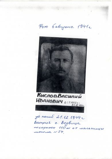 Кислов Василий Иванович