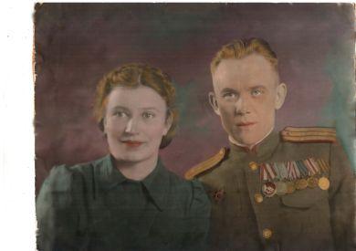 Кушнарева (Храброва) Анна Гавриловна