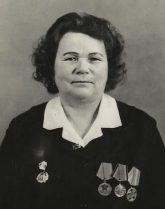 Козлова Вера Максимовна, 1922 г.р.