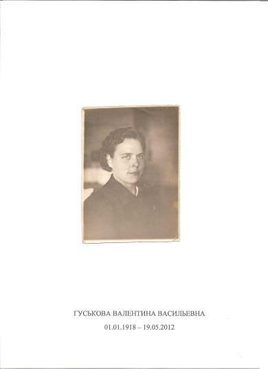 Гуськова Валентина Васильевна