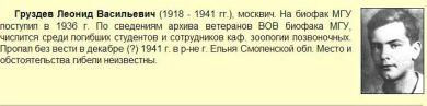 Груздев Леонид Васильевич