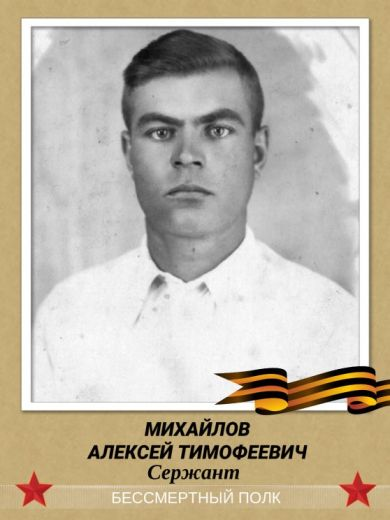 Михайлов Алексей Тимофеевич