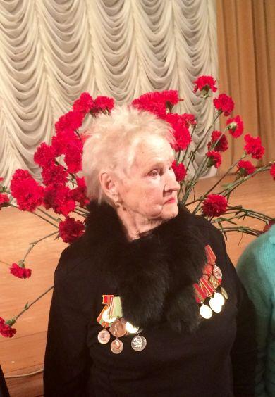 Журавлёва (Владимирова) Валентина Максимовна