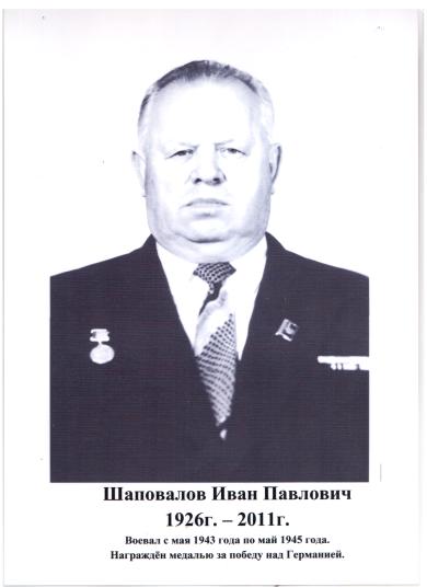 Шаповалов Иван Павлович