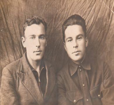 Карабановы Иван и Александр