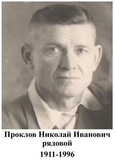Проклов Николай Иванович