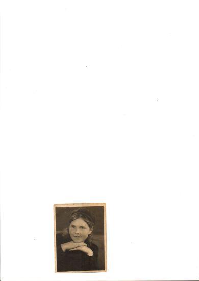Сазанова (Завьялова) Анна Васильевна