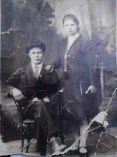 Тихомировы Григорий Александрович и Мария Ивановна