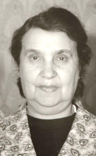 Грязнова (Бахрах) Мария Григорьевна