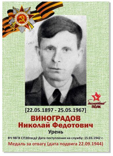 Виноградов Николай Федотович