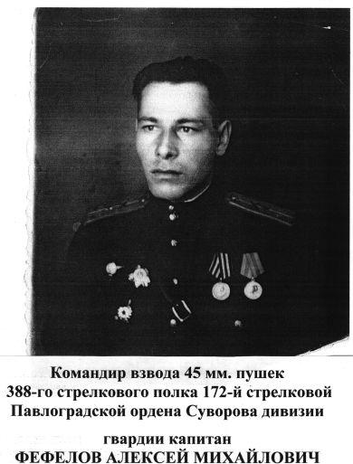 Фефелов Алексей Михайлович