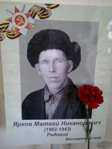 Ярков Матвей Никанорович