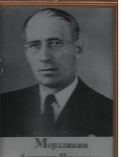Мерзликин Александр Николаевнич