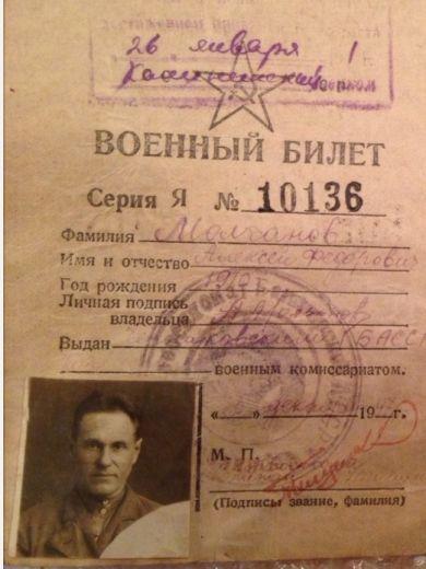 Молчанов Алексей Федорович