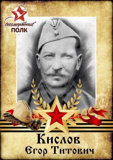 Кислов Егор Титович