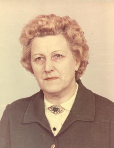 Комарова Прасковья Георгиевна