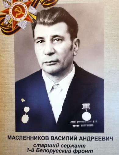 Масленников Василий Андреевич