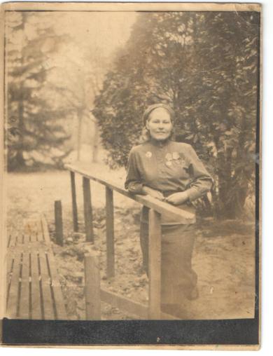 Титова(Кибальчич) Дарья Семеновна