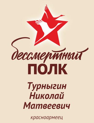 Турныгин Николай Матвеевич