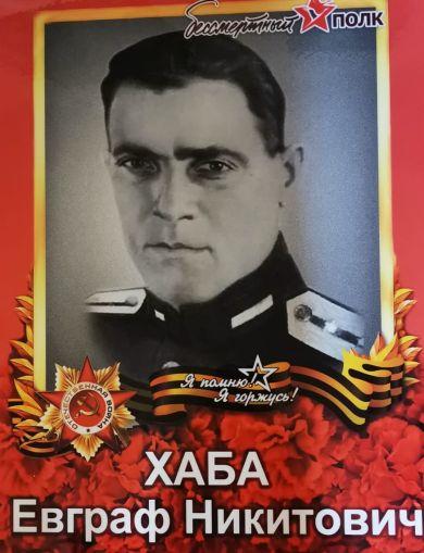 Хаба Евграф Никитович