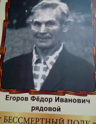 Егоров Федор Иванович