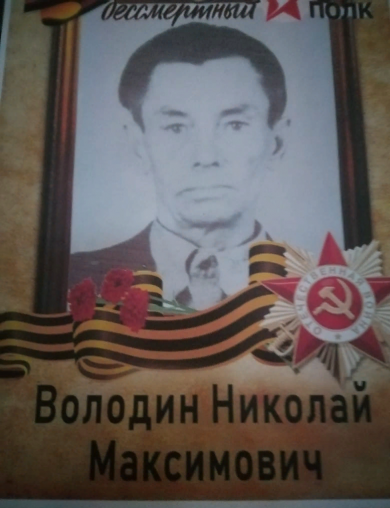 Володин Николай Максимович