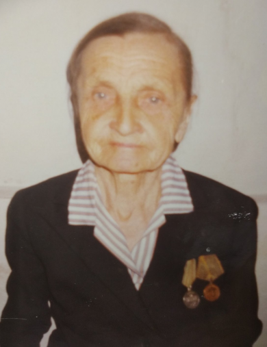 Никонова (Курышова) Екатерина Степановна