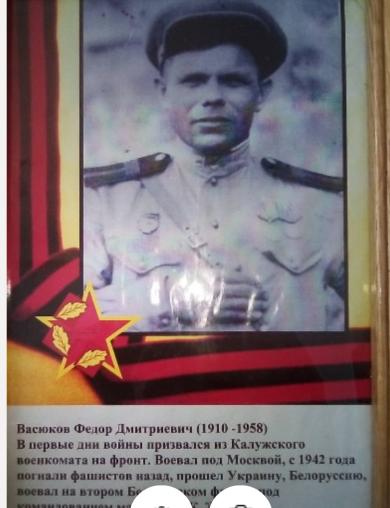 Васюков Федор Дмитриевич