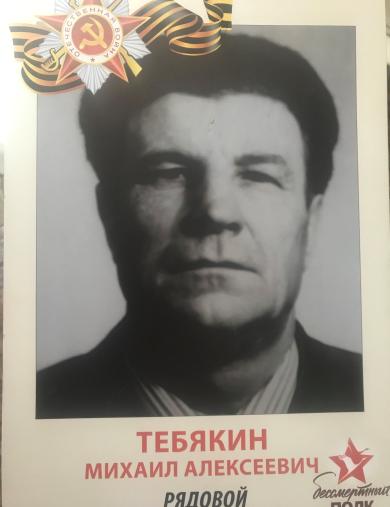 Тебякин Михаил Алексеевич