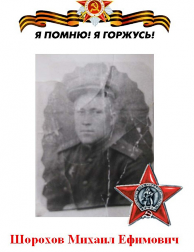 Шорохов Михаил Ефимович