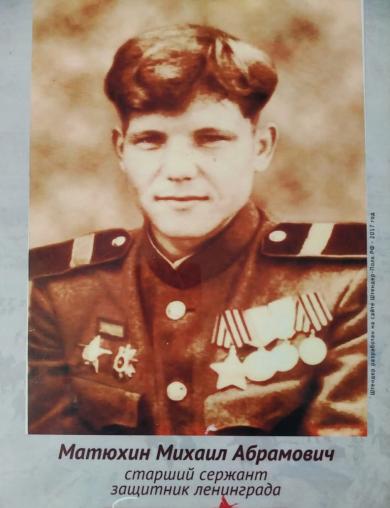 Матюхин Михаил Абрамович