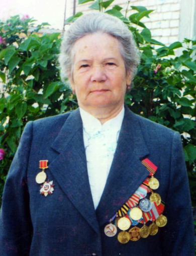 Егорова (Маркова) Анна Семеновна