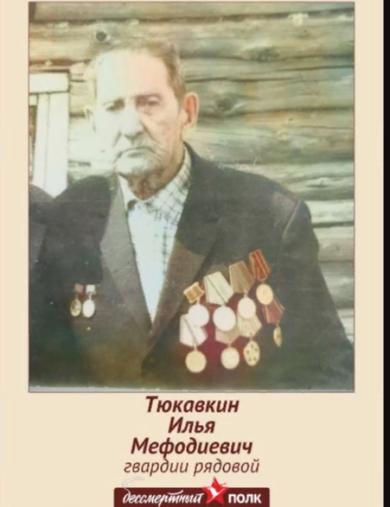 Тюкавкин Илья Мефодиевич