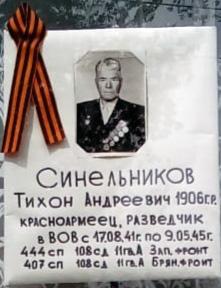 Синельников Тихон Андреевич