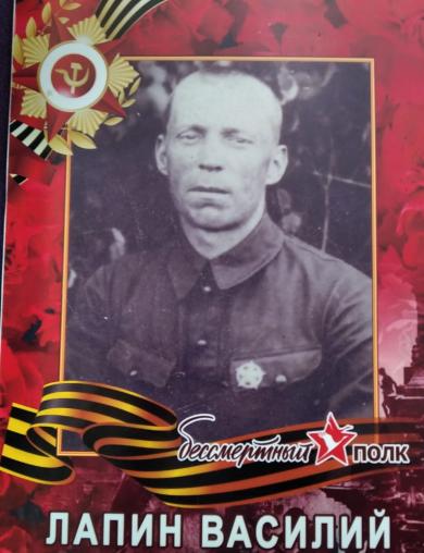 Лапин Василий Фёдорович