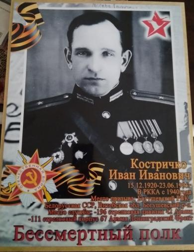 Костричко Иван Иванович