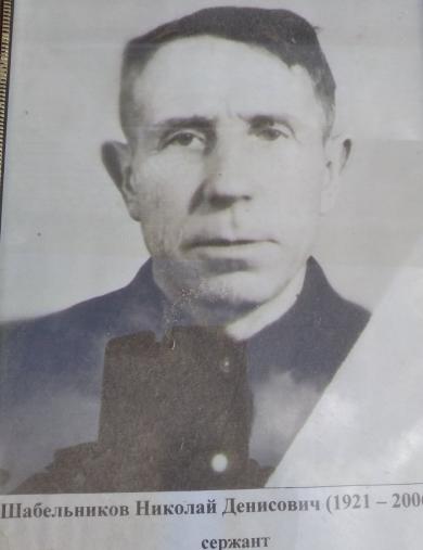 Шабельников Николай Денисович