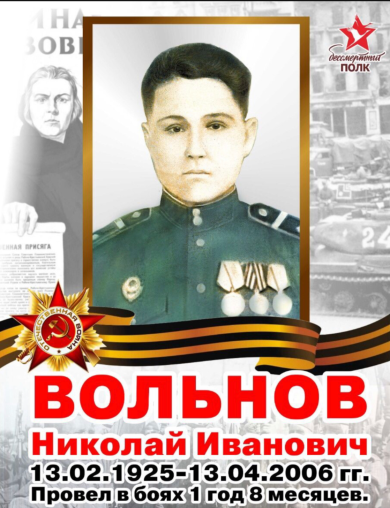 Вольнов Николай Иванович